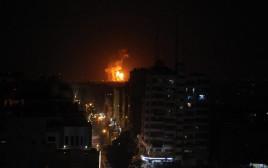 זירת האירוע בסוריה