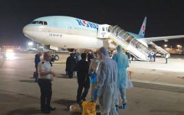 """מטוס קוריאני בנתב""""ג"""
