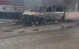 תקיפת הרכב בסוריה