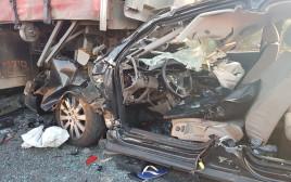 התאונה בכביש 4