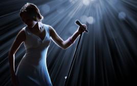 זמרת, אילוסטרציה