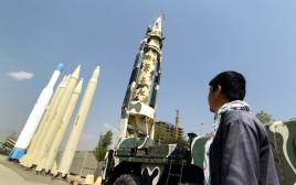 תצוגה של טילים בליסטיים בטהרן
