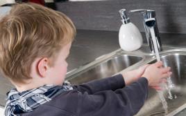 שטיפת ידיים, אילוסטרציה