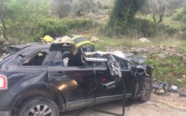 תאונה קטלנית סמוך לכפר תפוח
