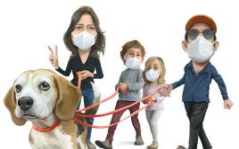 קורונה: הכלב מוציא אותנו לטיול