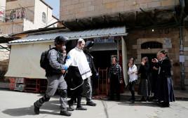 כוחות משטרה בשכונות חרדיות בירושלים