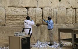 מבצע הוצאת הפתקים מאבני הכותל המערבי