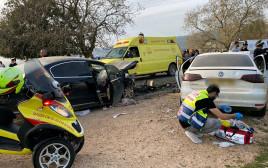 תאונת דרכים קטלנית בכביש 978