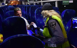 המשטרה החמירה את האכיפה גם בתחבורה הציבורית