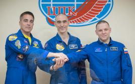 האסטרונאוטים מתכוננים לשיגור לחלל