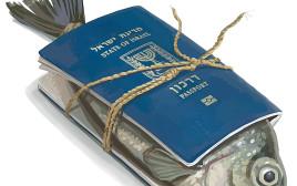 דג עטוף בדרכון