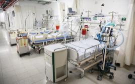 מחלקת קורונה בבית החולים זיו