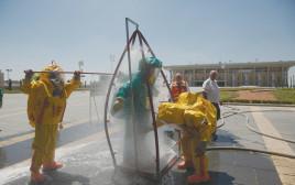 תרגיל פיקוד העורף נגד מתקפה כימית