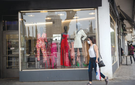 קורונה - חנות סגורה בתל אביב