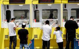 קורונה בישראל: עמדות בדיקה