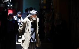 קורונה: השוק במזרח ירושלים