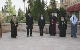 מנהיגי דתות בתפילה משותפת בישראל