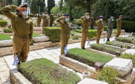 חיילים בהר הרצל