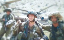 יוסי מרטין בשירותו הצבאי