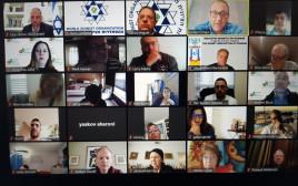 """כינוס ב""""זום"""" נגד אנטישמיות"""
