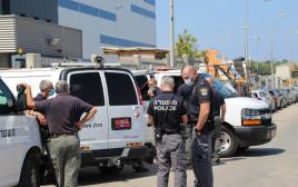 כוחות המשטרה באשדוד