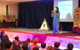 פעילות במועדונית של עמותת ״מעגלי שמע״