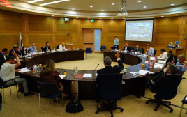 הוועדה המיוחדת דנה בחקיקת הרוטציה