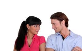 זוג מאוהב (אילוסטרציה)