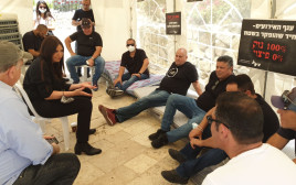 מחאת בעלי האולמות וגני האירועים