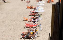 חוף הים של תל אביב בימים שלאחר הקורונה