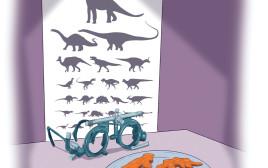חוץ משניצלוני דינוזאור הוא לא מבקש כלום