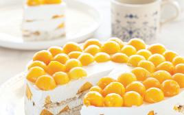 עוגת גבינה מנגו