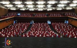 הדמייה לניהול אירוע לקהל גדול בבנייני האומה בימי הקורונה