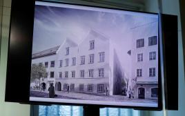 ביתו של היטלר שמוסב לתחנת משטרה באוסטריה
