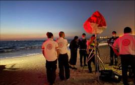 סריקות אחר נער בן 14 בחוף הקשתות באשדוד