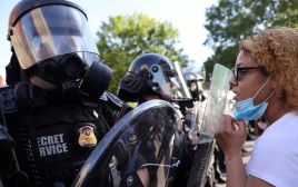 מחאות בוושינגטון נגד אלימות שוטרים