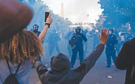 מחאה מול הבית הלבן