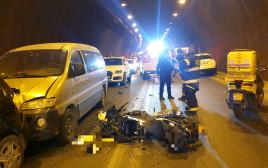 תאונת דרכים בירושלים