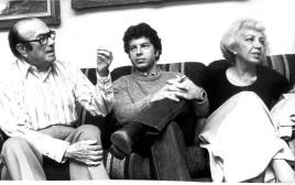 מייק בורשטיין והוריו פסח וליליאן