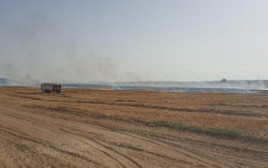 שריפה במועצה אזורית אשכול