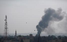 טורקיה תוקפת כורדיים בצפון סוריה (ארכיון)