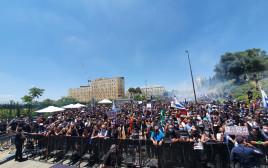 הפגנת אנשי התרבות בירושלים