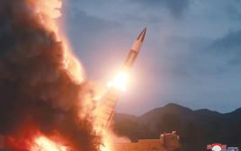 ניסוי טילים בקוריאה הצפונית