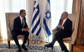 בנימין נתניהו, ראש ממשלת יוון