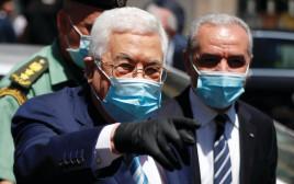 אבו מאזן, קורונה ברשות הפלסטינית