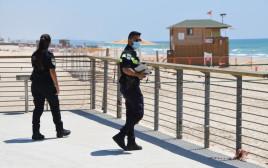 אכיפת המשטרה בחופים