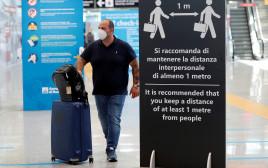 שדה התעופה באיטליה נפתח מחדש לטיסות