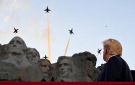 דונלד טראמפ בהר ראשמור: חגיגות ה-4 ביולי