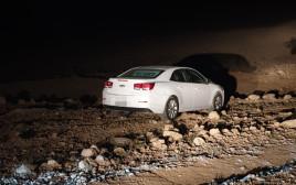 הרכב של החשוד בתאונת פגע וברח בערד