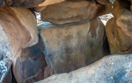 ציורי קיר בדולמן בשמורת יהודיה